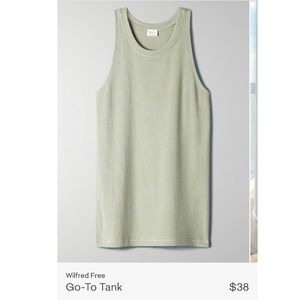 Wilfred Go-To Tank